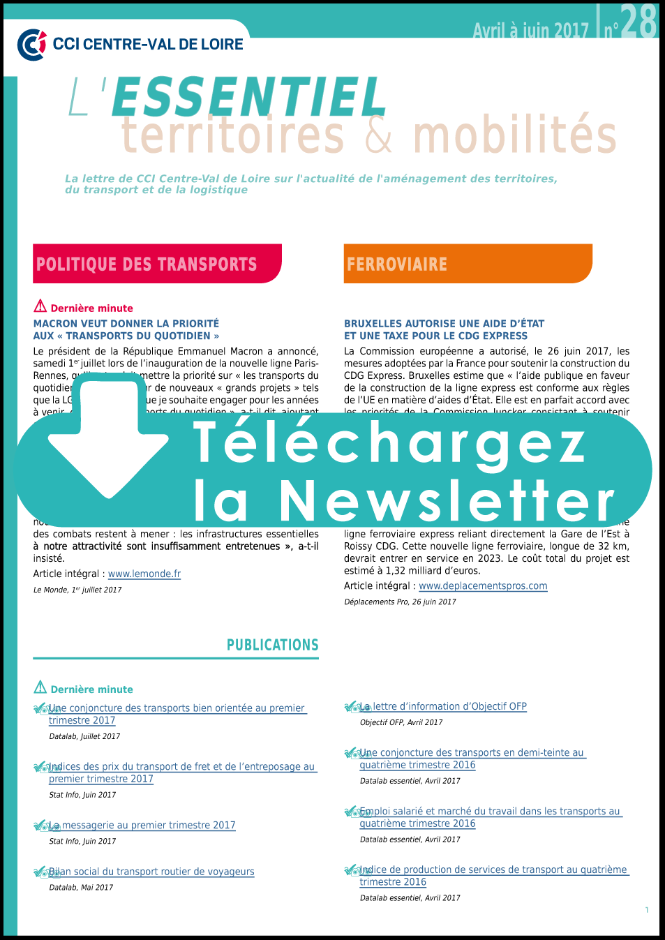 telechargez la newsletter
